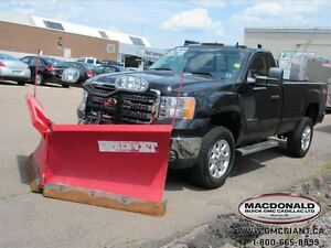 2012 GMC SIERRA 2500HD SLE 4X4 with PLOW