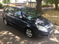 Vauxhall Zafira 1.9 CDTi Exclusiv 5dr- 1 Owner from NEW- MOT- FULL SERVICE HISTORY- 7 SEATER-£3190
