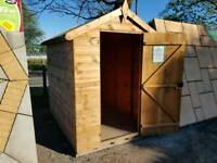 6FT X 4FT MANGHAM APEX FULLY TONGUE & GROOVE GARDEN SHED £299 INC DELIVERY & INSTALLATION