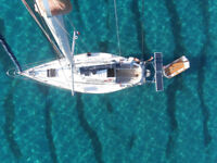 30 ft Sailing Boat Moored on the Italian Riviera (very well maintained yacht, ready to go cruising!)