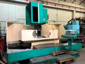 Dah-Lih MCV-1700 CNC Vertical Machining Center, Made in Taiwan
