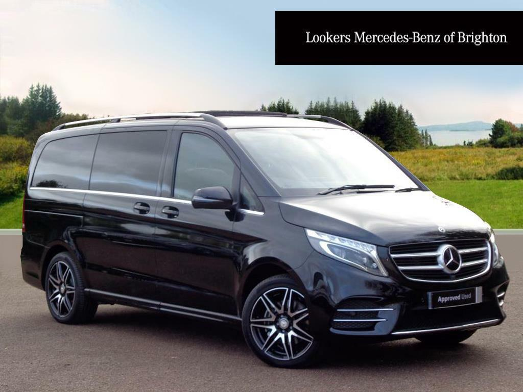 mercedes benz v class v 250 d amg line l black 2017 09. Black Bedroom Furniture Sets. Home Design Ideas