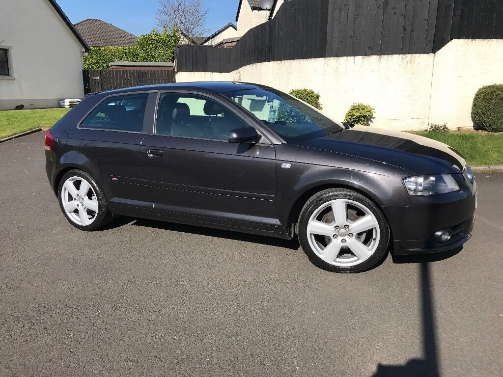 2007 audi a3 s line 2 0 tdi 140 bhp in ballymena county antrim gumtree. Black Bedroom Furniture Sets. Home Design Ideas