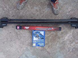 2003 galaxy roof rack [lockable]..haynes manual,a set of wipers