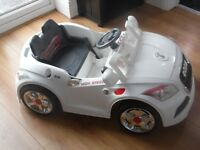 Childs Audi battery car