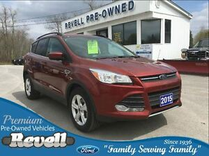 2015 Ford Escape SE 4WD   *FMCC lease return   Only 38K