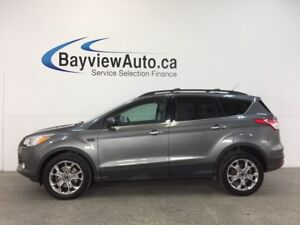 2014 Ford ESCAPE SE- 4WD|ECOBOOST|HITCH|HTD LTHR|NAV|SYNC!