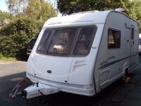 Sterling Eccles Topaz Two Berth Touring Caravan