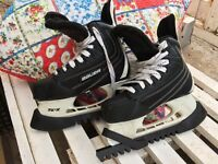 Ice skate boots size 3