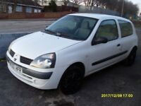 CHEAP CLIO 1.2 cc..2003..MOT