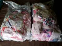 Baby clothes bibs and grow bags