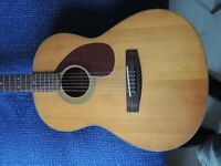 Yamaha FG75 vintage guitar