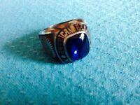 """White Metal Ring """"Duralite"""""""