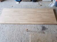 Solid Oak Kitchen Worktop 40mm thick SOLD******SOLD**********
