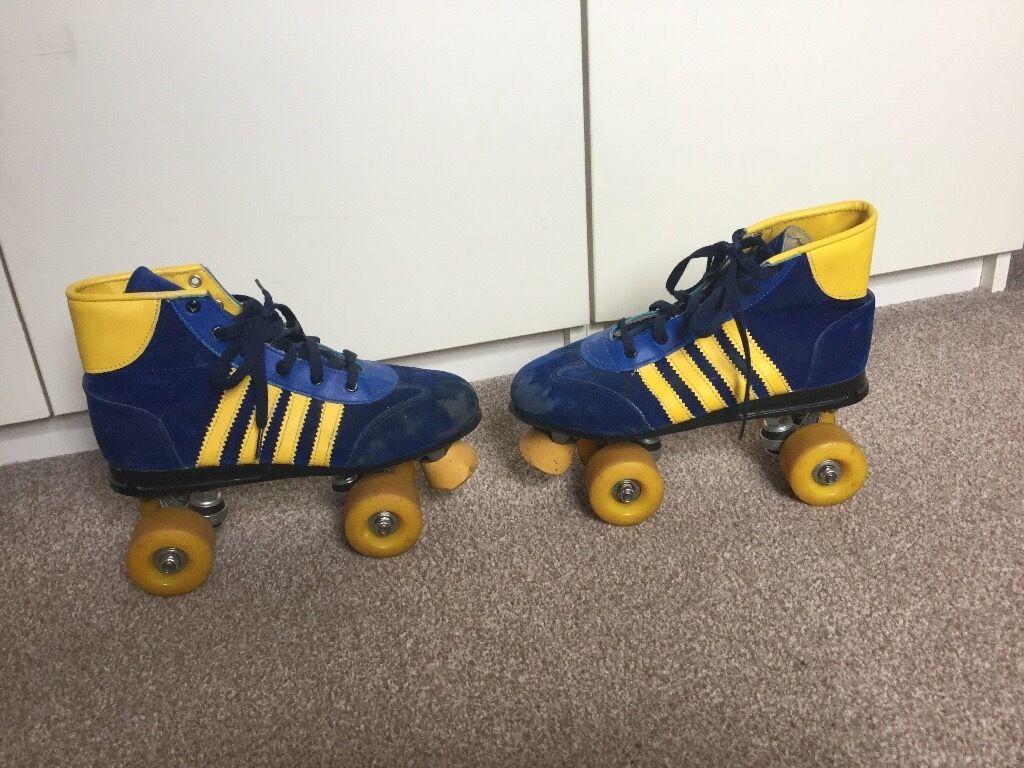 Roller skates kingston - Pair Of Vintage Retro Roller Boots Size 6 In Kingston London Gumtree