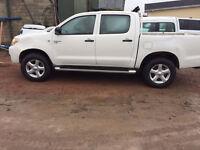 toyota hilux alloy wheels and tyres new 255 65 17 bridgestone 6 stud