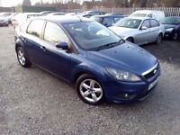 Ford Focus 1.6 TDCi DPF Zetec 5dr, 1 YEAR MOT. 2 FORMER KEEPERS. HPI CLEAR. BLUETOOTH. P/X WELCOME