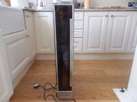 Lamona 150 mm wine cooler x 2 (Stainless Steel ) Under Counter
