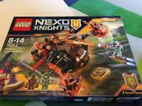 Lego Nexo Knights (Moltor's Lava Smasher) set. Brand new. Unopened box.