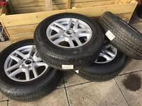 BMW 17 inch alloys Vivaro trafic