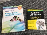 Wongs Nursing care of infants & children ED 9 & anatomy for dummies