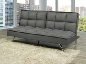 SOFA BEDS | ALSO AVAILABLE - LOW PLATFORM BED WITH LIGHTS, MODERN COOL LOOKING LEATHER BED (BD-1091)