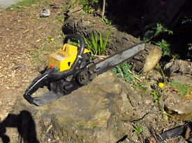 PARTNER S65 CHAINSAW - FOR SPARES AND REPAIRS