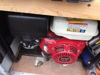 Honda GX270 petrol generator (model E5000)