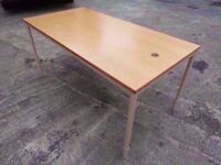 Office Desk on solid Legs study homework Delivery Available