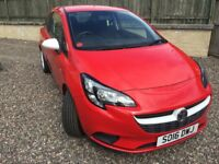 Vauxhall Corsa 1.2i Sting, July 2016, 5990 miles - ONLY USED SIX MONTHS - £6650