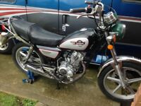 Huoniao HN 125 Motorcycle