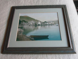 Two Framed Prints of Old Inveraray.