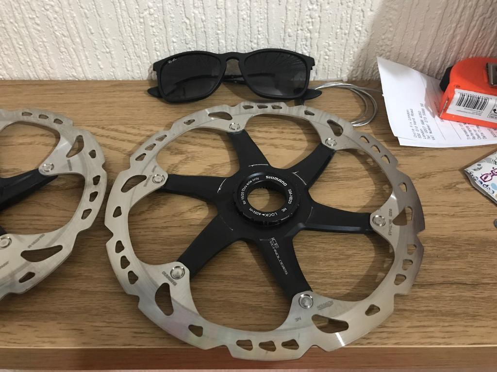 Shimano XT ice technology roters