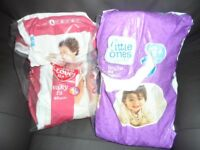 Size 4 and 4 1/2 nappies