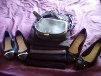 Ladies bundle of smart/work clothes + shoes & bag - 28 items!