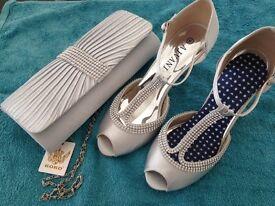 Wedding shoes and bag