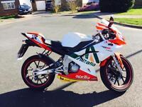 Aprilia rs 50 (77cc professionally modified 70 mph)