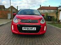 2016 Citroen C1 1.2 Pure Tech Flair 5dr Red Parking camera Bluetooth