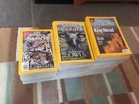 105 National Geographic Magazines (1996-2008)