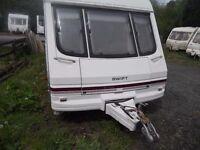 4/5 Berth Caravan fully loaded