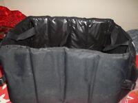 Car boot storage bag