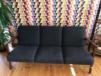 Retro ikea 3 seater sofa