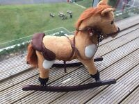 MINT CONDITION ROCKING HORSE VERY CHEAP