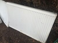 Two Double Panel Radiators