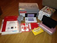 Nintendo 3ds ice white full bundle