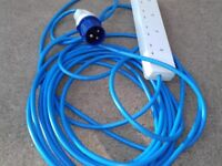 Camping Electric Hook Up Lead