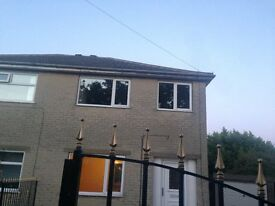 Three bedroom family house for letting with off street parking £650 monthly rent with £700 Deposit.