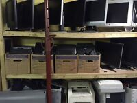 """20 Monitors for sale.Dell,Samsung,HKC,Lenovo,Acer screens 15"""",17"""",19"""",20"""",22"""".From £20.with receipt"""