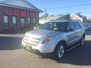 2013 Ford Explorer XLT 4x4 Leather Roof 20s