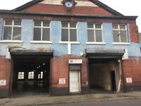 To Rent Ground Floor Commercial Workshop / Industrial Unit with Shutters NG7 Nottingham